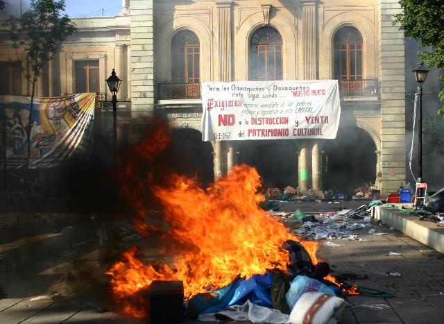 Llevan a La Haya la represión contra la APPO de 2006