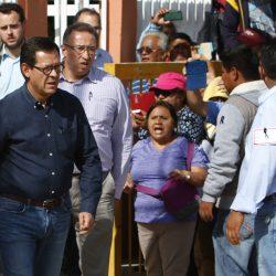 Roberto Campa Ciprian Subsecretario de Derechos Humanos de la Secretaría de Gobernación se reunio con maestros, pobladores, familiares de heridos y fallecidos en los hechos violentos del pasado 19 de  Junio en el Municipio de Nochixtlan, Oaxaca.