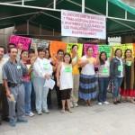 Trabajadoras y trabajadores del municipio capitalino en huelga