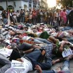 Caravana del Movimiento por la Paz con Justicia y Dignidad en Oaxaca, sept 2011