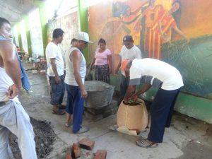 Instalación de cocina comunitaria en San Dionisio del Mar