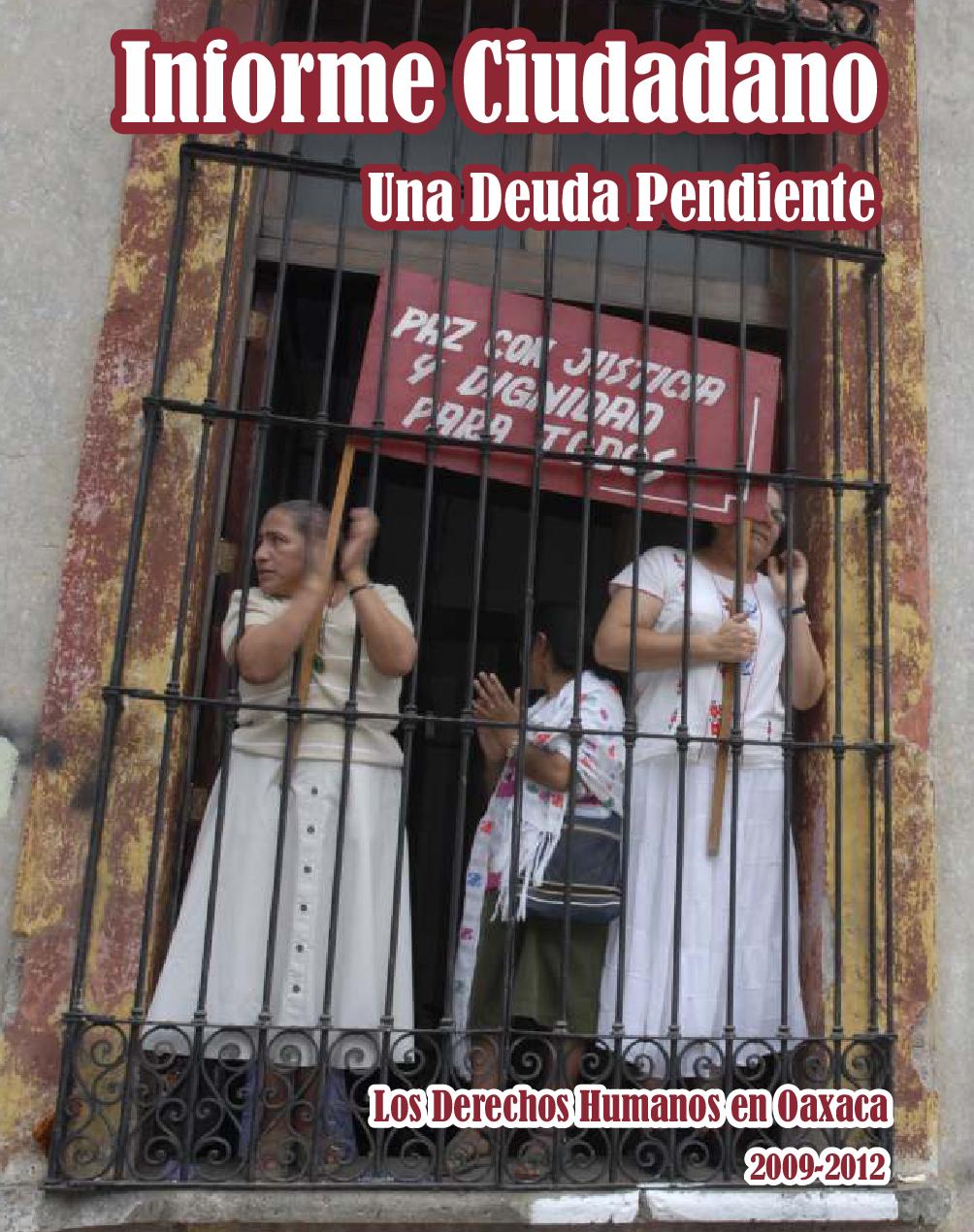 Los Derechos Humanos en Oaxaca 2009-2012